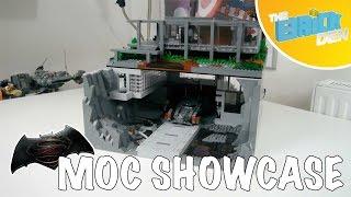 Lego BATMAN V SUPERMAN BATCAVE and BRUCE WAYNE