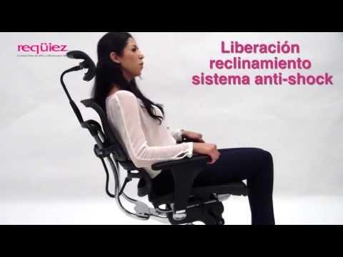 Reqüiez - Mecanismo synchro de palanca única de control. - Sillas para oficina Guadalajara