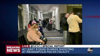 At least 8 people dead after mass shooting at Fed-Ex facility in Indianapolis   ABC7