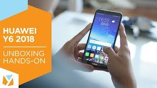 Huawei Y6 (2018) Unboxing, Hands-On