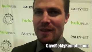 "Сериал ""Стрела"", ARROW at PaleyFest: Stephen Amell on Tommy Learning the Truth, Sarah Possibly Being Alive"