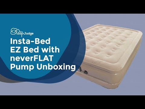 Insta-Bed  EZ Bed With neverFLAT Pump Unboxing
