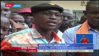 Busia County politics following Ababu Namwamba resignation
