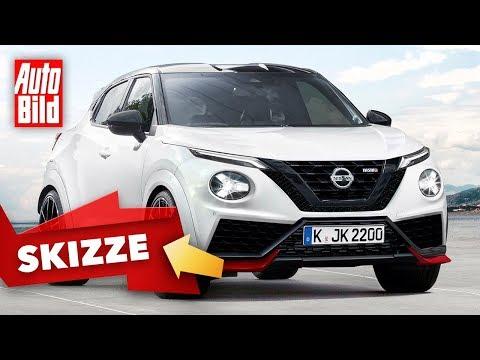 Nissan Juke Nismo (2021): Skizze - Neuvorstellung - SUV - Motor - Infos