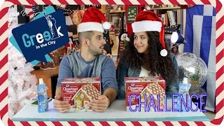 Gingerbread House Challenge with my Niece