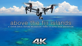 Above The Fiji Islands Aerial Nature Relaxation™ 4K UHD Ambient Film W/ Music For Stress Relief