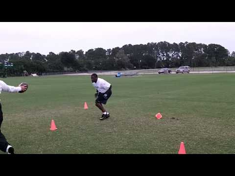 Keith Williams DB Drills