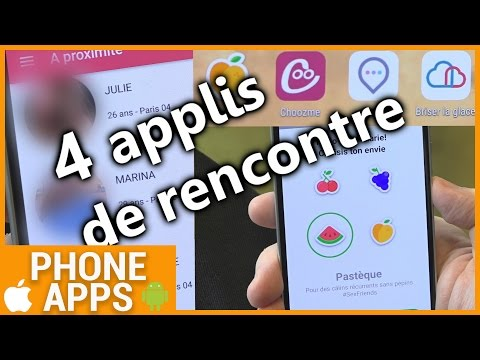 Application s site de rencontre