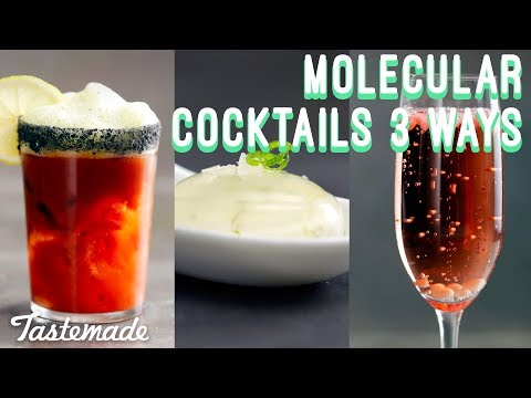 Molecular Cocktails 3 Ways I Shop Tastemade