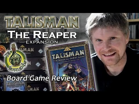The Reaper Expansion for Talisman - The Bottled Imp Review