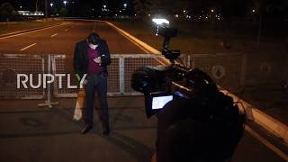 Brazil: Driver detained after car rams Temer's presidential palace gates