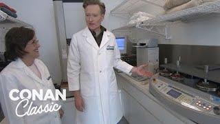 "Conan Visits The ""Good Housekeeping"" Laboratory   Late Night with Conan O'Brien"