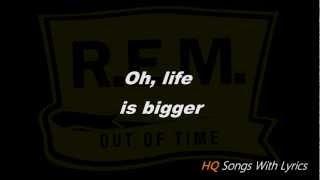 R.E.M. Losing My Religion (With Lyrics) HQ