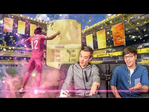 WALKOUTS IN A RETRO FIFA 17 PACK OPENING