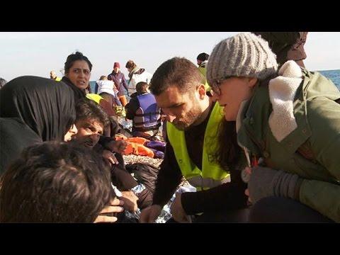 اللاجئون مصدر دخل مهم لليونان