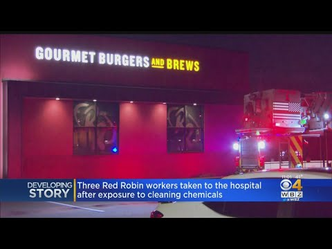 Download 3 Red Robin Workers Taken To Hospital After Exposure To Cleaning Chemicals Mp4 HD Video and MP3