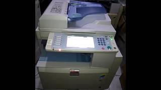 حذف الملفات المخزنة على ماكينة تصوير ريكو ابيض واسود او الوان mp5000