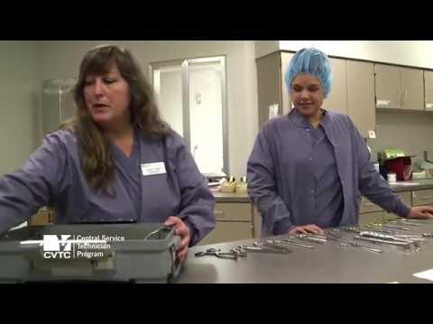 CVTC - Central Service Technician Program - YouTube
