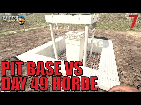 7 Days To Die - A Working Pit Base (Alpha 17)