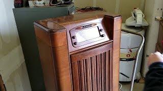 1947 PHILCO 47-1230 AM FM Phono Vintage Tube Radio Part 1 of 14 Teardown & Bench Test
