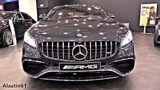 2018 Mercedes S Class Coupe - NEW AMG S63 4Matic + SOUND FULL Review Interior Exterior