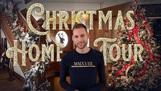 Christmas Home Tour - Christopher Hiedemans Christmas Decorating - Historic Home Tour
