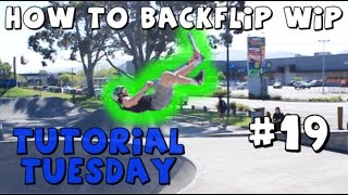 HOW TO BACKFLIP TAIL WHIP ON A SCOOTER !!! BEST TUTORIAL