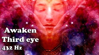 """Goddess Song"" Beautiful Awaken/Open Your Third Eye (1 hour/432 Hz Stimulation/Meditation)"
