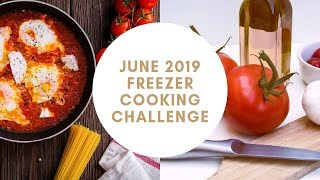 June 2019 Freezer Challenge  ||  Using It Up  ||  Freezer Inventory and Meal Planning