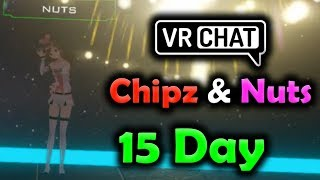 [15 DAY PART 3/4] Chipz And Nuts VRChat - By The Fireworks & Monika Gets Sad (ROLEPLAY)