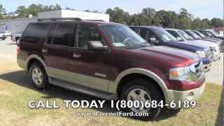 2007 FORD EXPEDITION EDDIE BAUER 4X4 Review Car Videos * For Sale @ Ravenel Ford Charleston SC