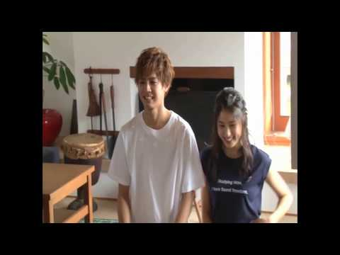 "(ENG SUB) Katayose Ryota and Tsuchiya Tao were shy when they announced that ""they are dating"""
