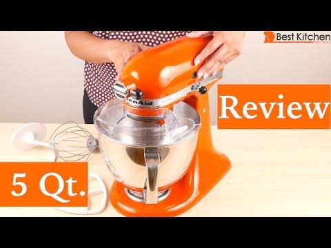KitchenAid Artisan Series 5-Quart Stand Mixer Review