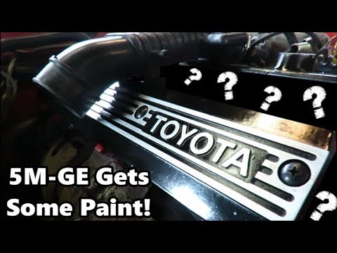 Фото к видео: MKII Supra Restoration/Build Part 6| 5M-GE Gets A Refresh!