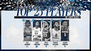 Top college basketball players: Ranking Nos. 5 through 1 for 2019-20 season