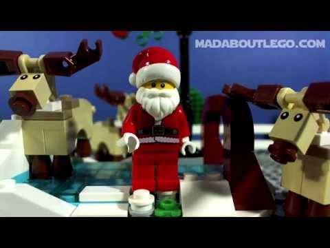 Vidéo LEGO Saisonnier 40107 :  Le patinage en hiver