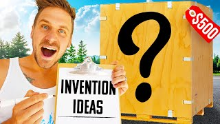 $500 MYSTERY BOX INVENTIONS CHALLENGE!