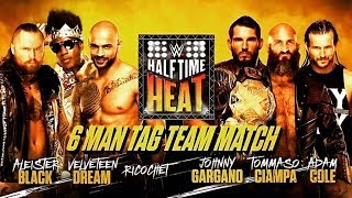 WWE 2K19 Half Time Heat Simulation 6 Man Tag Team Match