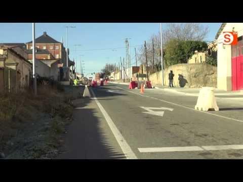 Este mes acabarán las obras de la carretera de Aldealengua y Jesús Arambarri