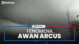 Fenomena Awan Arcus Mirip Gelombang Tsunami Kembali Selimuti Nagan Raya, BMKG Beri Penjelasan