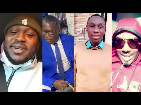 Modou Lô, Gris, Tapha Tine, Mbaye Diéye Faye et... souhaitent HBD à Lirou Diane monument Guédiawaye