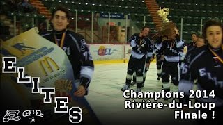 preview picture of video 'Élites BB de CLL-Repentigny en Finale de tournoi à Rivière-du-Loup 2014'