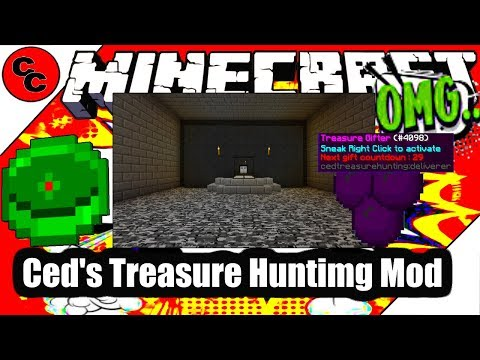 "Minecraft Mods: "" Ced's Treasure Hunting Mod 1.12.2 """