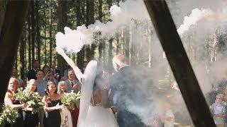 Albin + Nikki - Swedish Forest Wedding