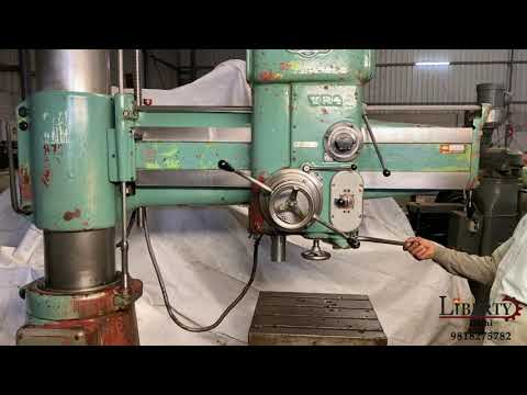 MAS Radial Drilling Machine