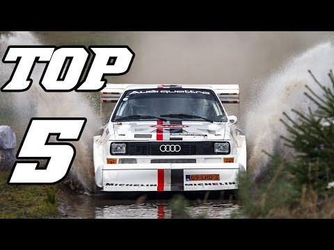 TOP 5 - Audi Racecars