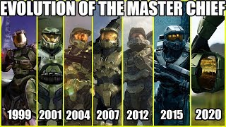 Evolution of Master Chief (1999-2019) Halo Armor Through The Years