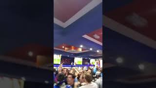 The Louden Celebrating Morelos Goal Vs Legia Warsaw