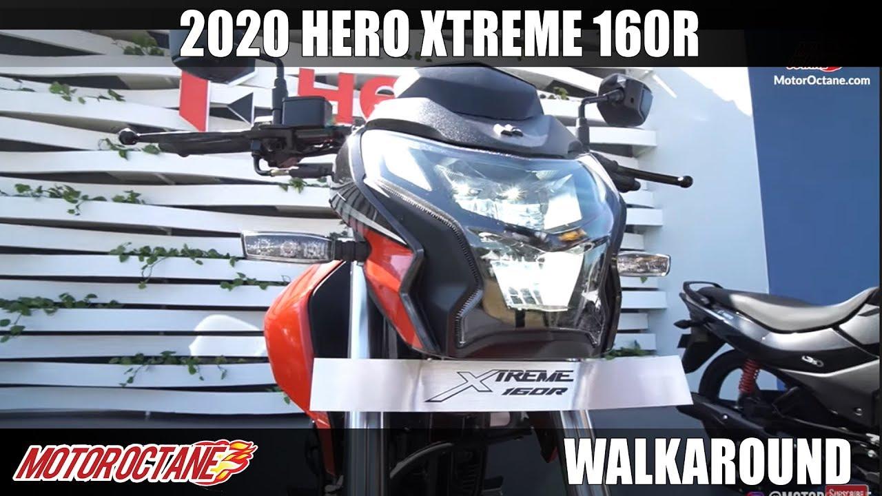 Motoroctane Youtube Video - 2020 Hero Xtreme 160R - Apache 160 Competition? | Hindi | MotorOctane