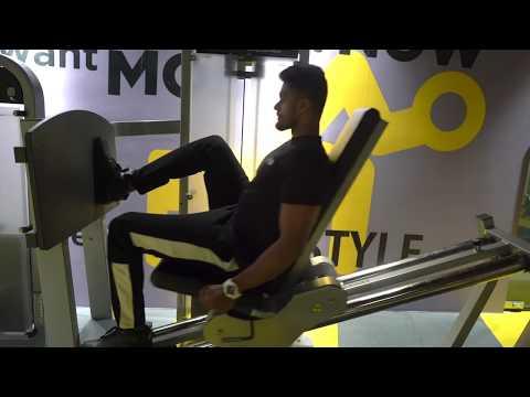 Unilateral Seated Leg press